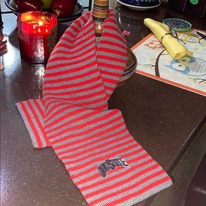 Child's scarf  Ohio state